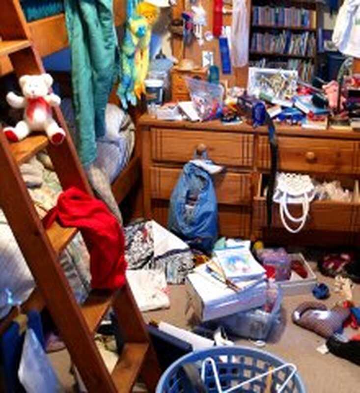 Съвети за подготовка на децата да почистват помещенията си