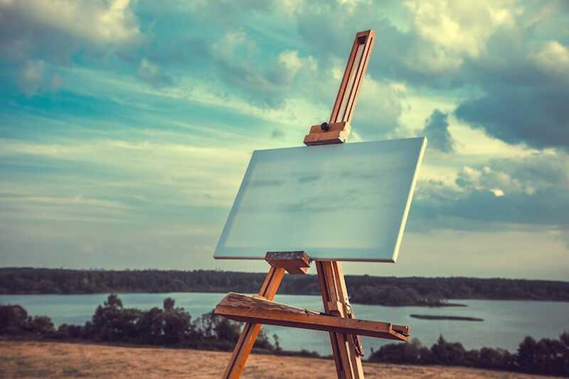 Livet er en tom side for at skabe on-og andre inspirerende citater