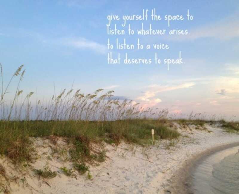 Crearea spațiului pentru a ne asculta