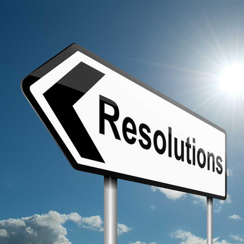 Comment fonctionne la résolution de cette année pour vous?