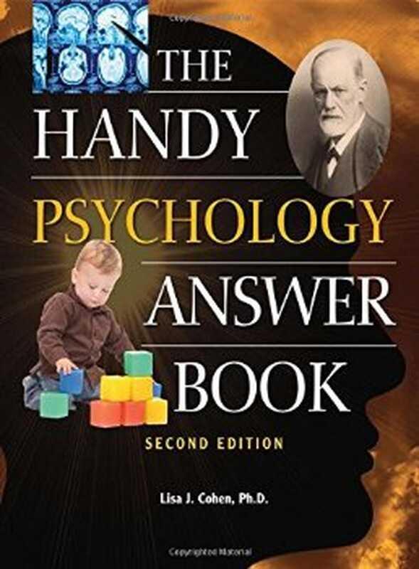 Αναθεώρηση βιβλίου: το εύχρηστο βιβλίο απαντήσεων ψυχολογίας