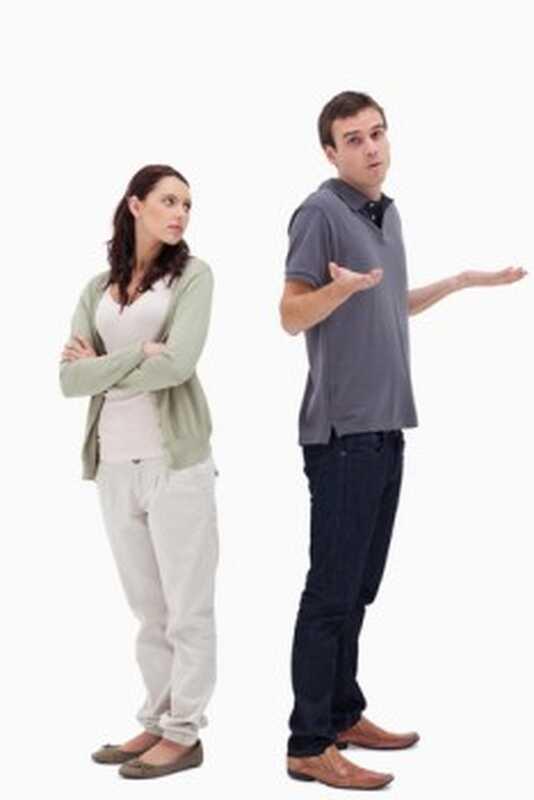 Umgang mit einem passiv-aggressiven Partner