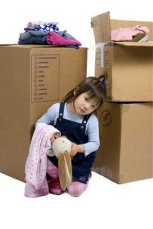 Stěhování a malé děti