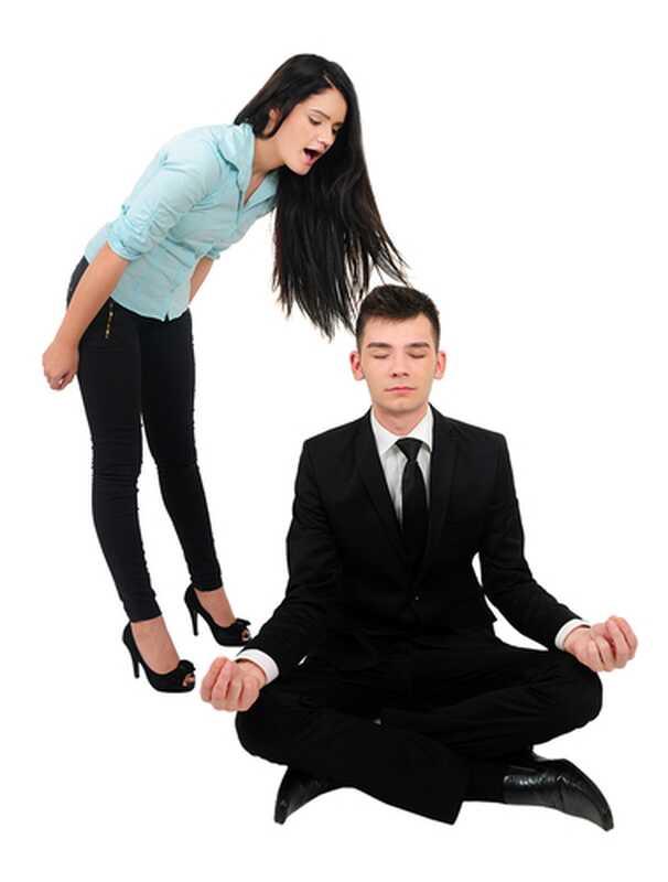 Com mantenir la calma quan la teva parella és mitjana i enfadada