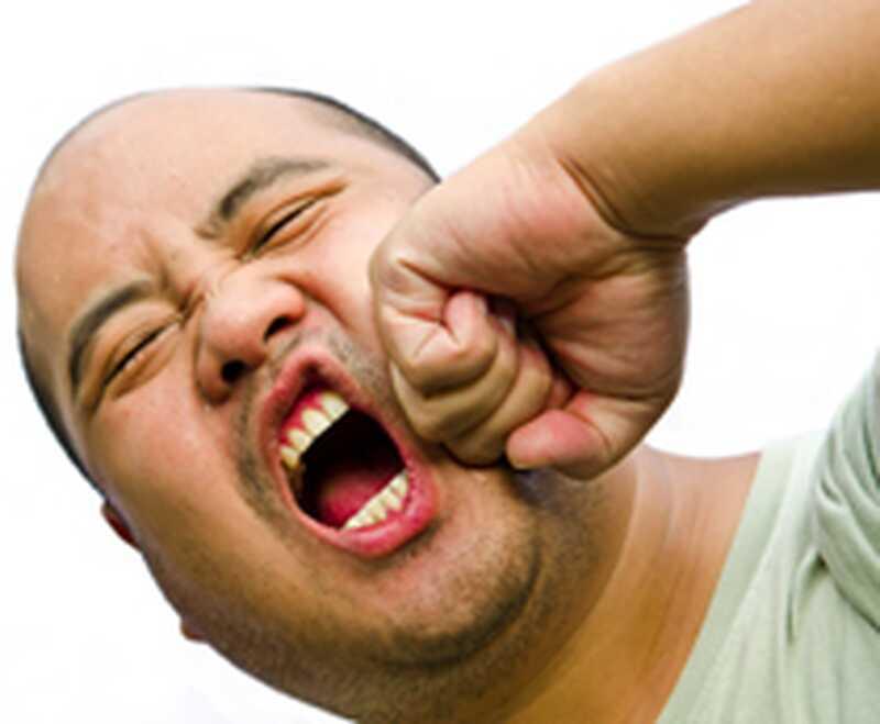 Αυτο-σαμποτάζ με θυμό