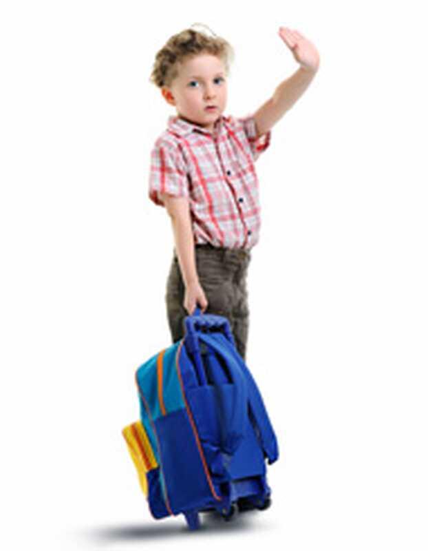 Få ængstelige børn i skole