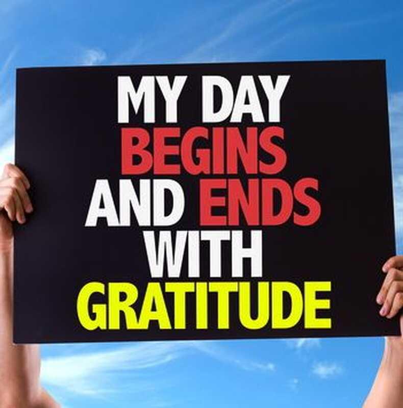 Gratitud, con actitud