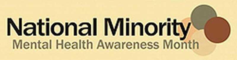 Nationale mindretal mental sundhed bevidsthed måned