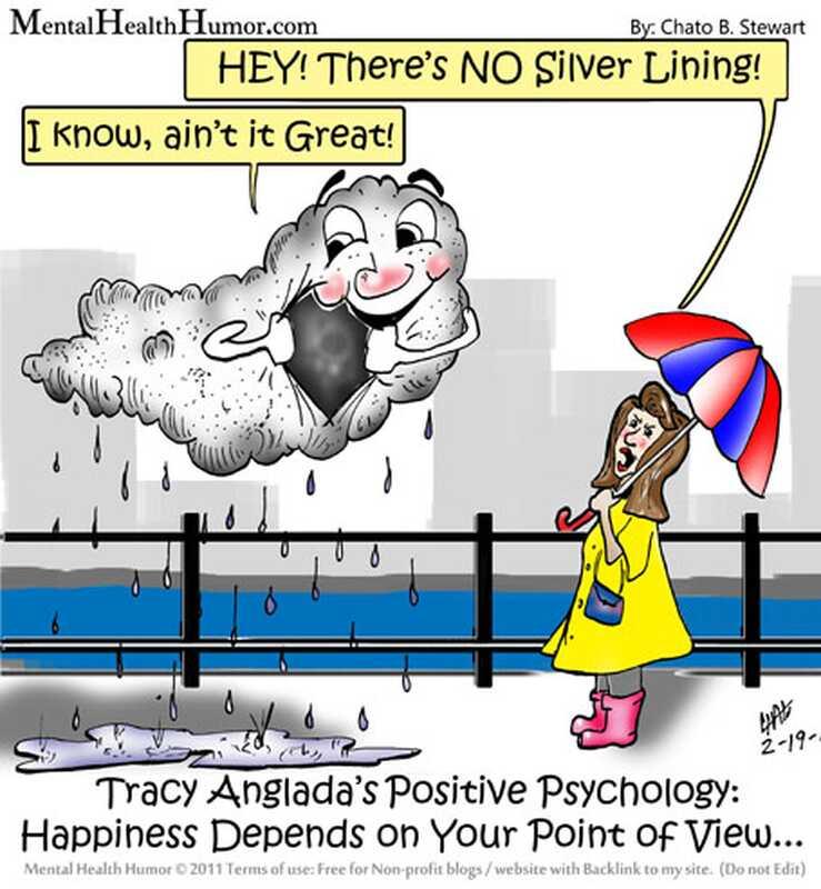 Štěstí - v tomto oblaku není žádná stříbrná podšívka!