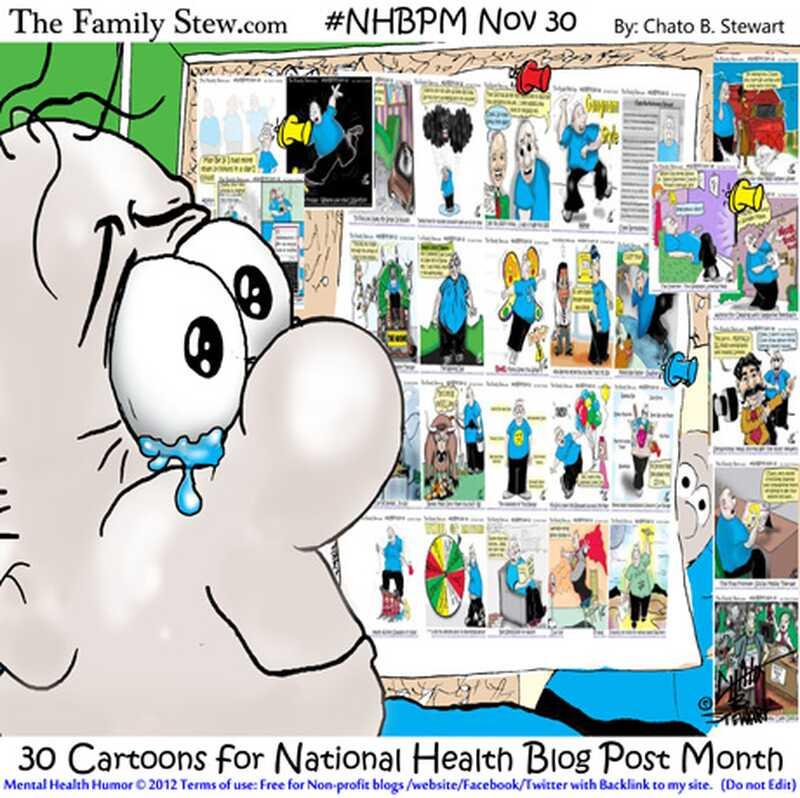 Sisestama 30 postitust 30 päeva - riikliku tervise blogi postituskuu