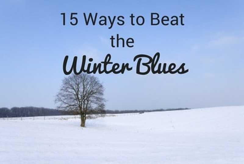 15 Möglichkeiten, den Winter-Blues zu schlagen