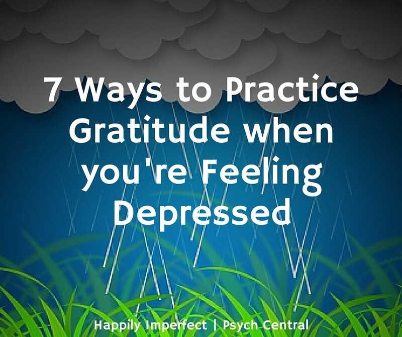7 formes de practicar gratitud quan se sent deprimit