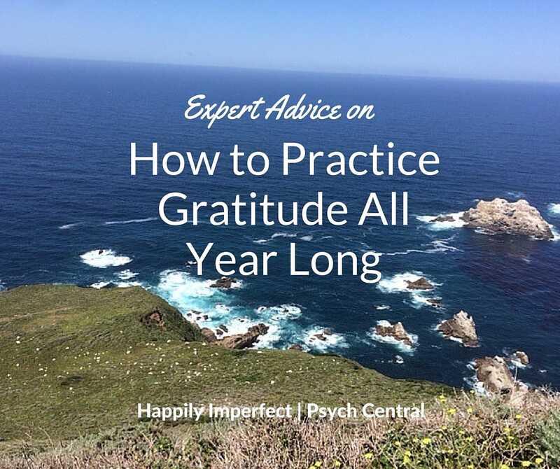 Ekspertrådgivning om, hvordan man praktiserer taknemmelighed hele året rundt