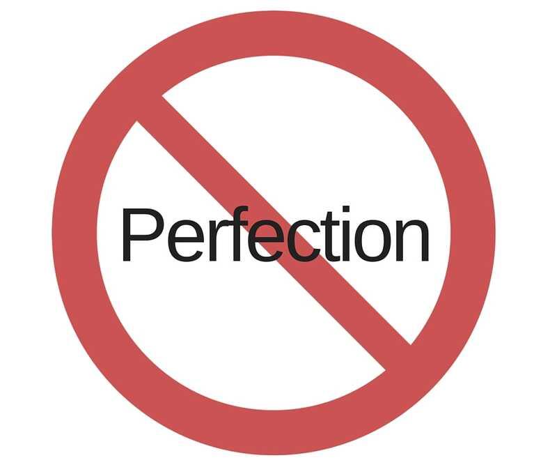Co je špatné, když jste perfekcionista?