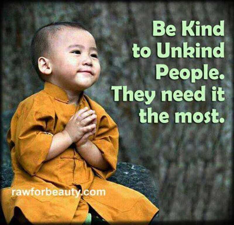 Να είστε ευγενικοί με τους ανθρώπους, τους χρειάζονται περισσότερο