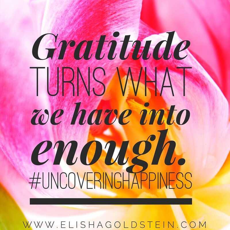 Giv en kraft boost til din taknemmelighed praksis