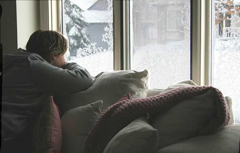 Følelse skør om vinteren, del 2: grumle sammen med mig