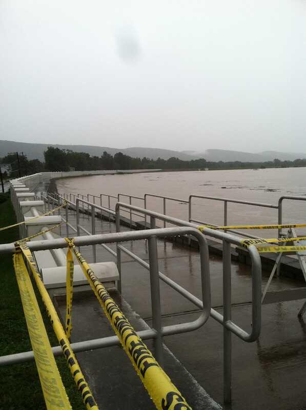 Река Сускуханна ще наводнят и аз се чувствам безпомощна