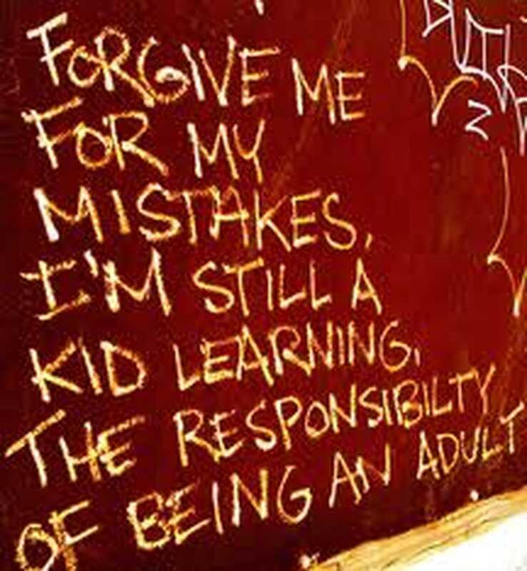 10 undskyldninger for ikke at sige, at jeg er ked af eller gør forandringer