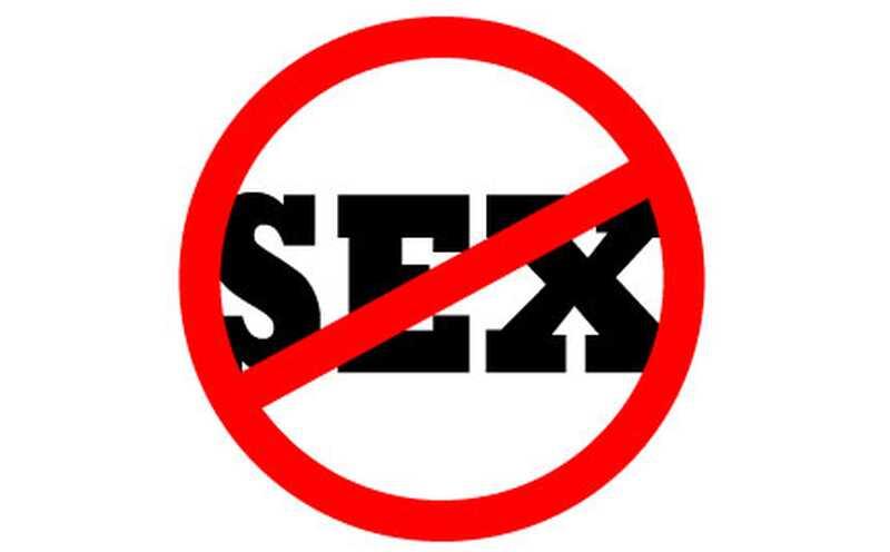 Co myslíš, že žádný sex po dobu 30 dní!