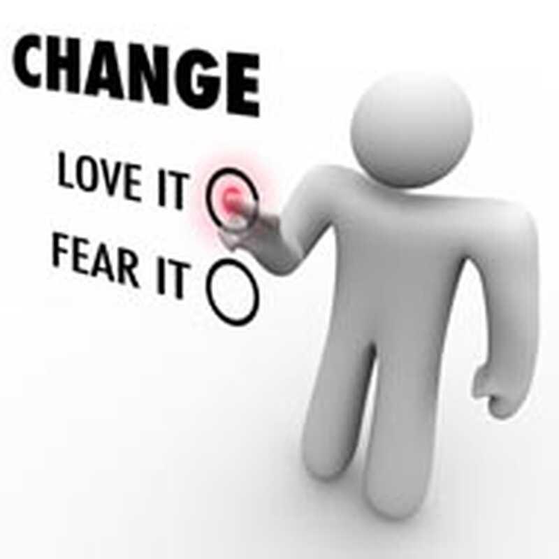 Промяната е добра или най-малкото това е това, което продължавам да си казвам