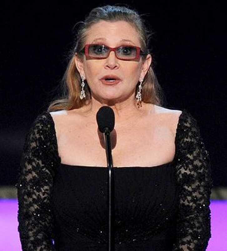 Carrie Fisher, bipolární porucha, porucha pozornosti a lidé, které inspirovala