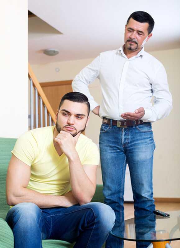 Pappa kære: Når fadersønnen binder, er det ikke der
