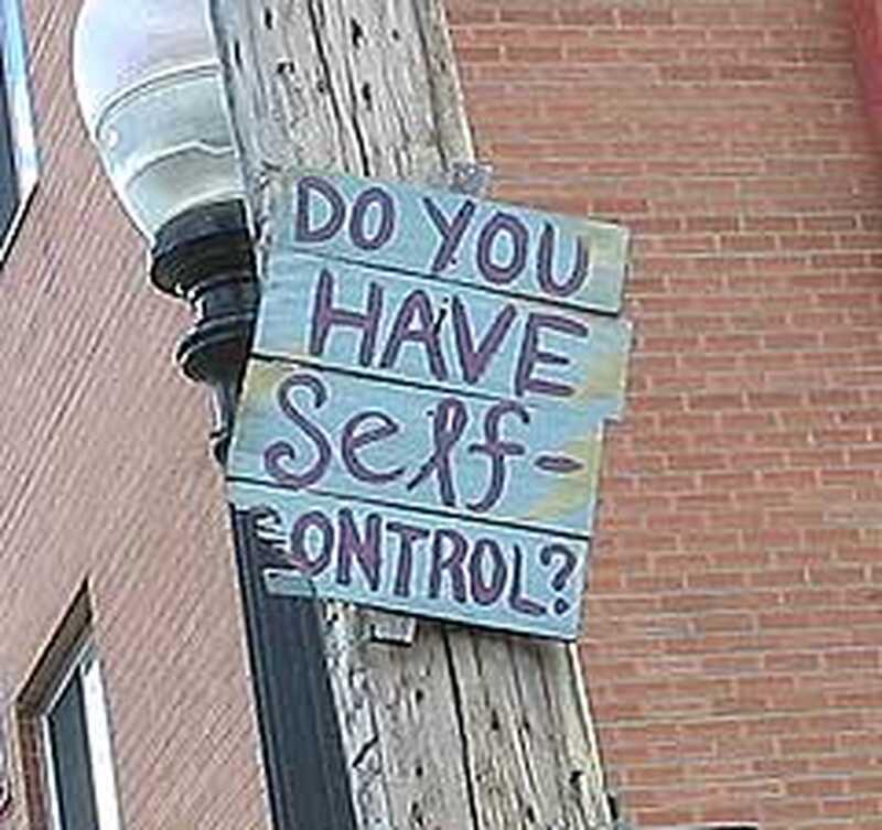 Překonání nedostatku sebeovládání